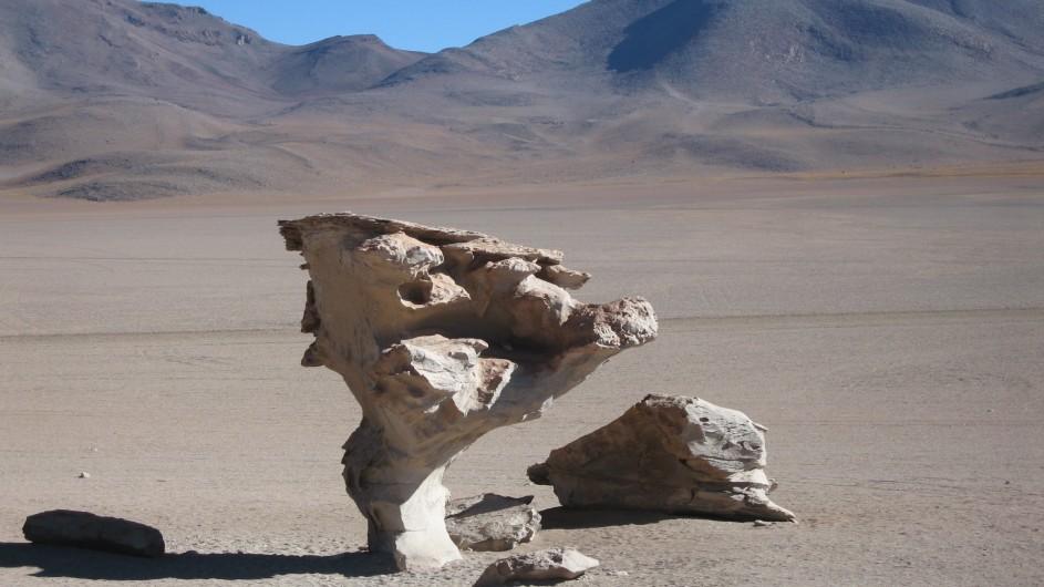 Bolivien Arbol de Piedra Reserva Eduardo Avaroa