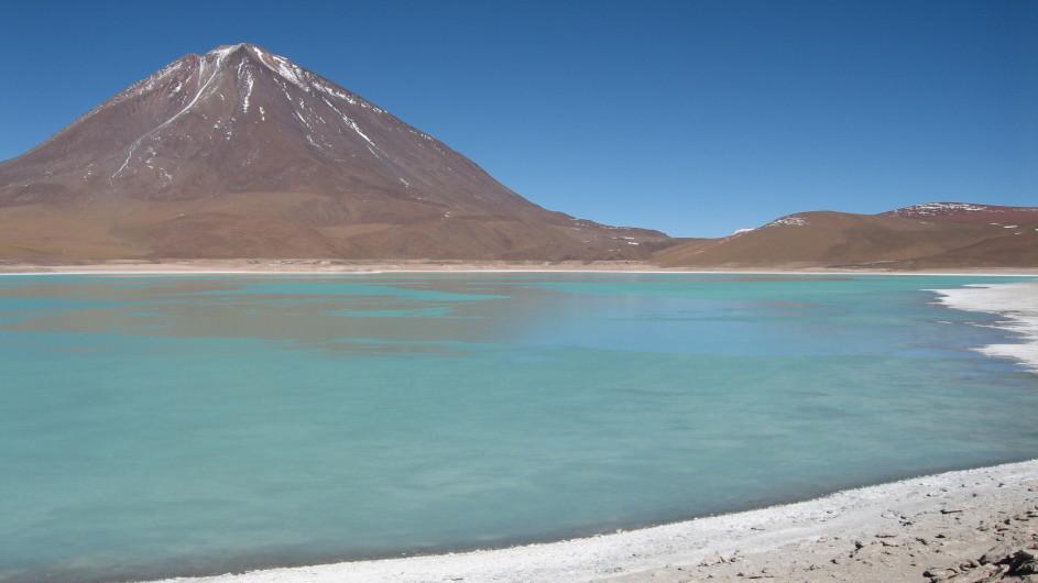 Bolivien Laguna Verde Reserva Eduardo Avaroa
