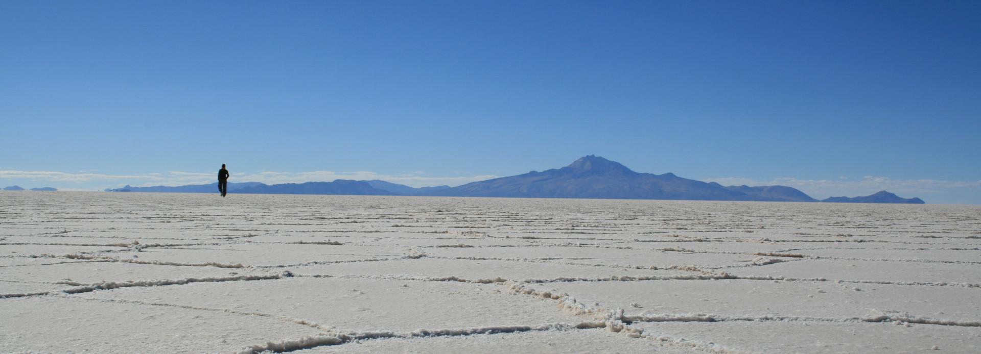 Uyuni Salzsee in Bolivien