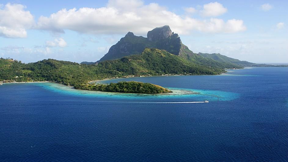 Panorama von Bora Bora