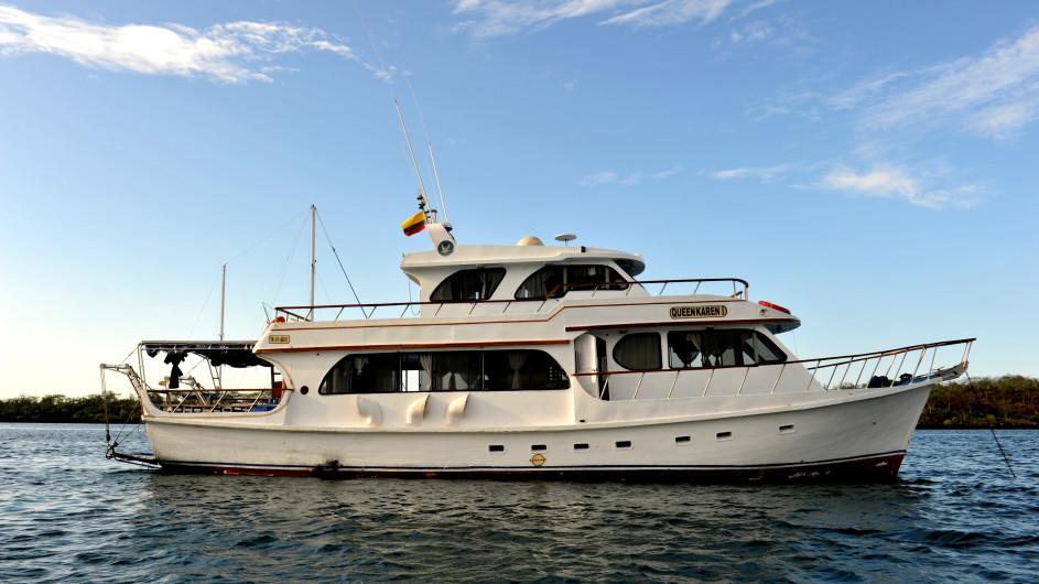 Ecudor Galapagos Safari Camp Ausflugsboot