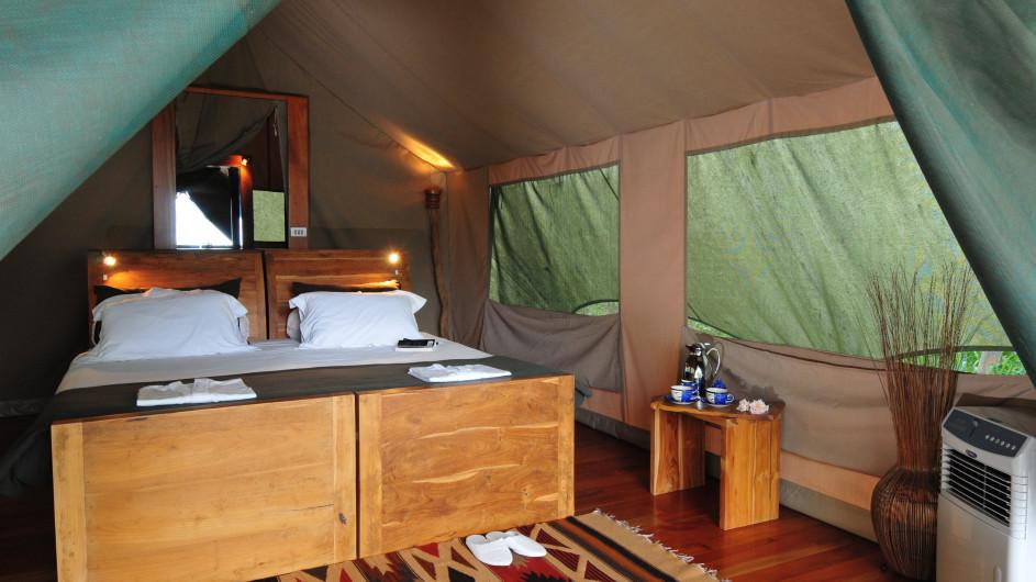 Ecuador Galapagos Safari Camp Zelt