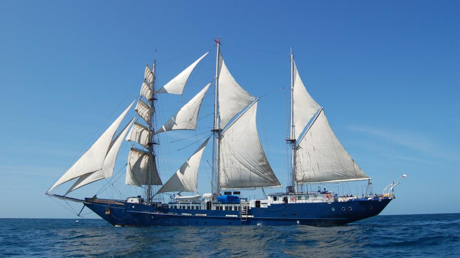 Ecuador Galapagos Segelschiff Mary Anne