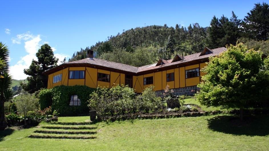 Ecuador Hacienda Manteles