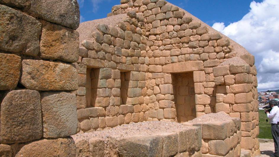 Ecuador Ruinen von Ingaprica