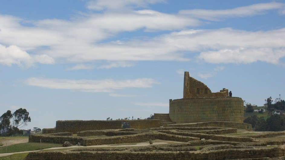 Ecuador Ruinen von Ingapirca