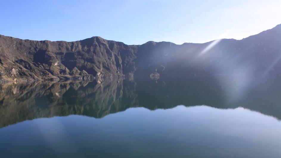 Ecuador Kratersee Quiloto