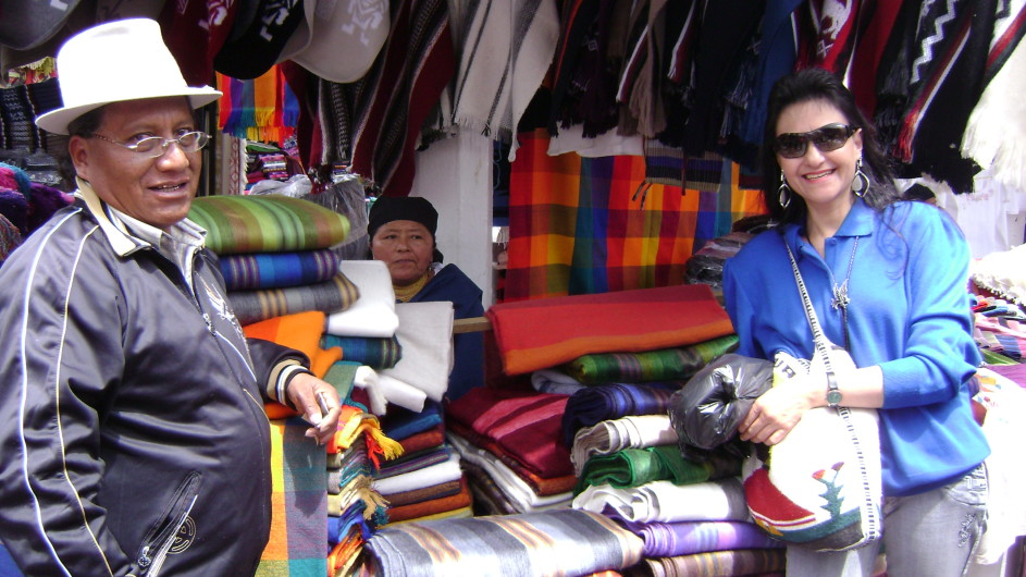 Ecuador Markt in Otavalo