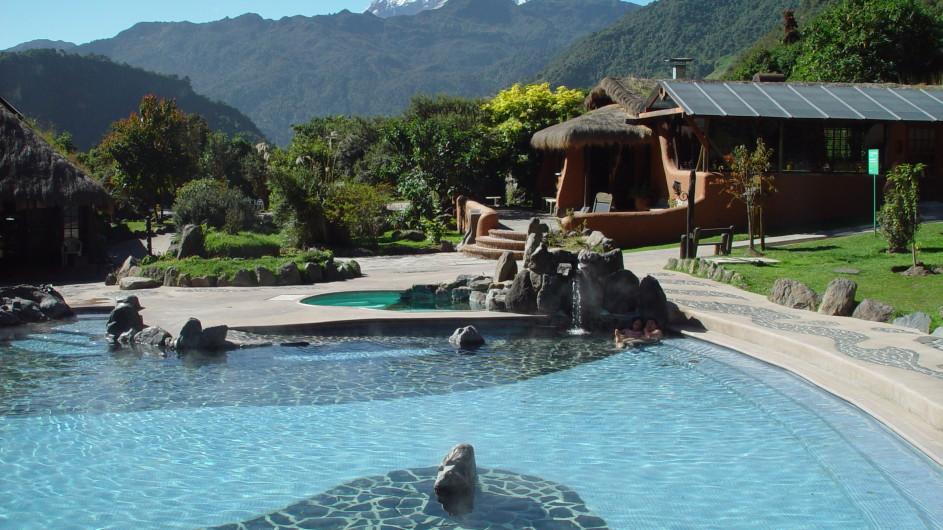 Ecuador Thermen von Papallacta