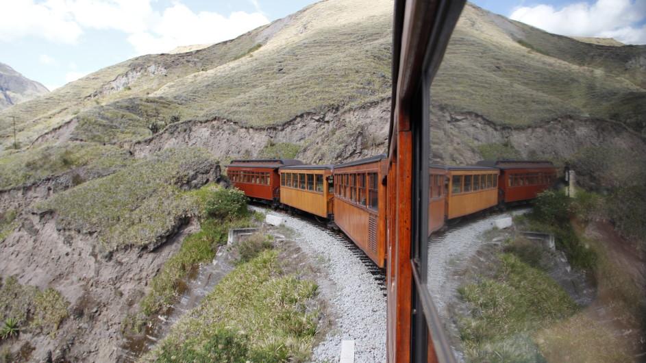 Ecuador Zugfahrt Teufelsnase