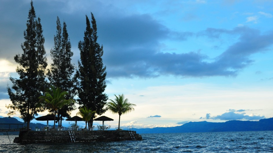 Indonesien Sumatra Toba See