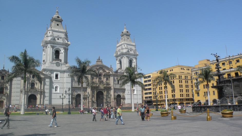 Peru Die Kathedrale von Lima