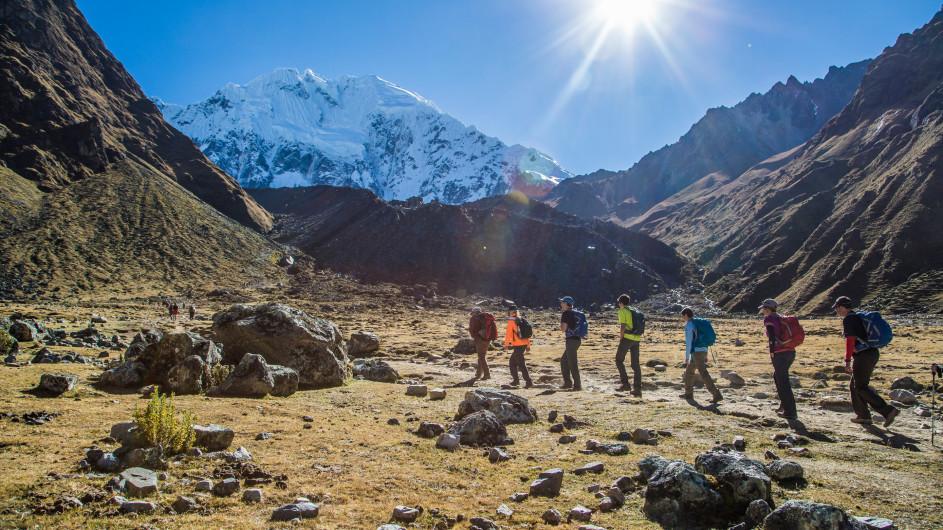 Peru Salkantay Trail Trekking