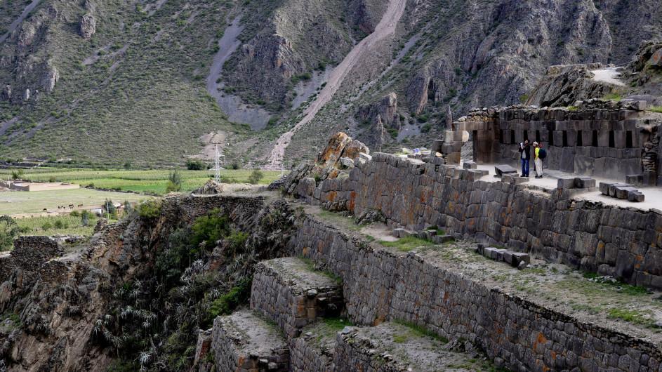 Peru Ruinen von Ollantaytambo
