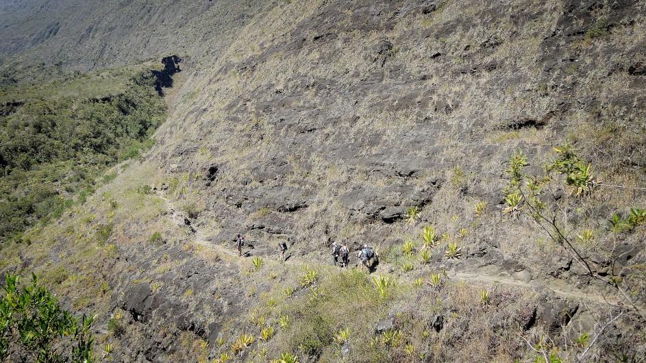 La Réunion Wanderung im Talkessel von Mafate