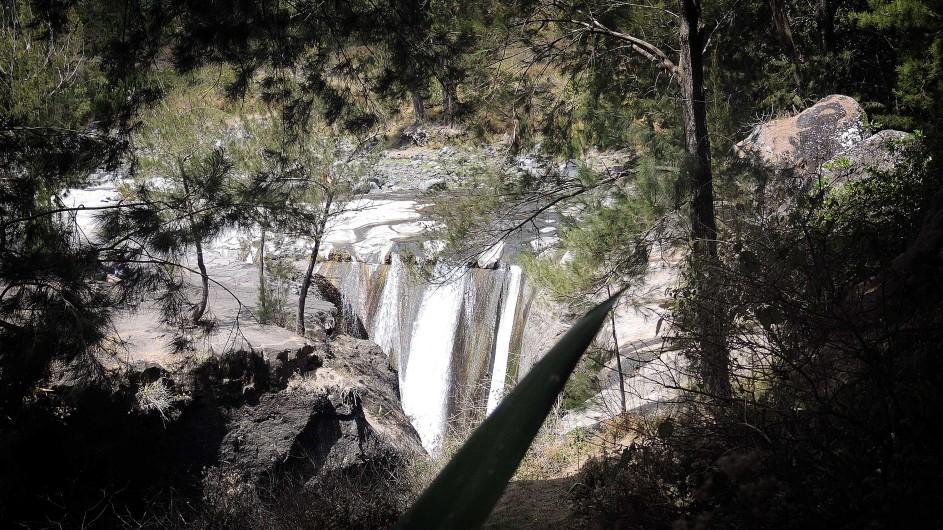 La Réunion Wasserfall Roche du Tamarin