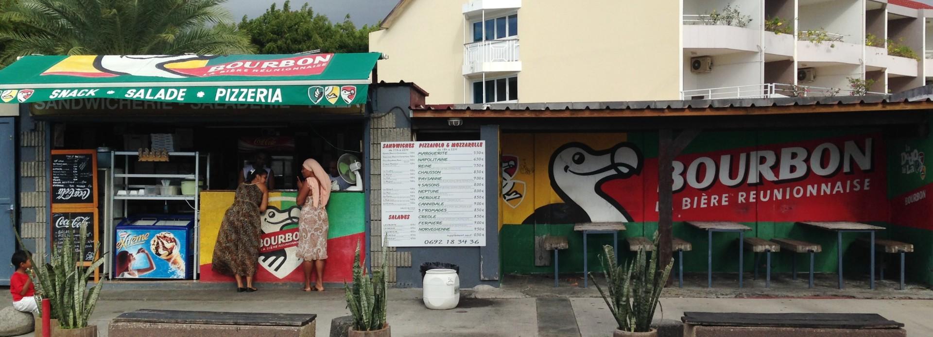 La Réunion Streetbar in St Gilles de Bains