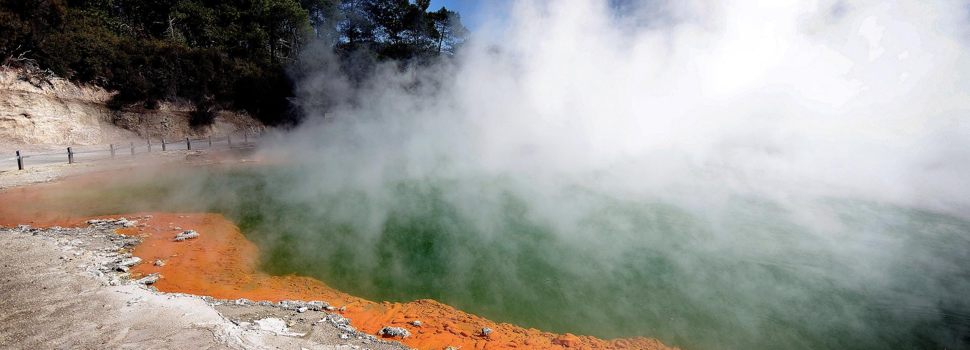 Neuseeland Champagne Pool im Wai o Tapu