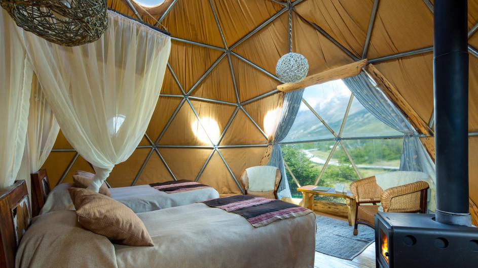 Chile - EcoCamp - Suite Dome