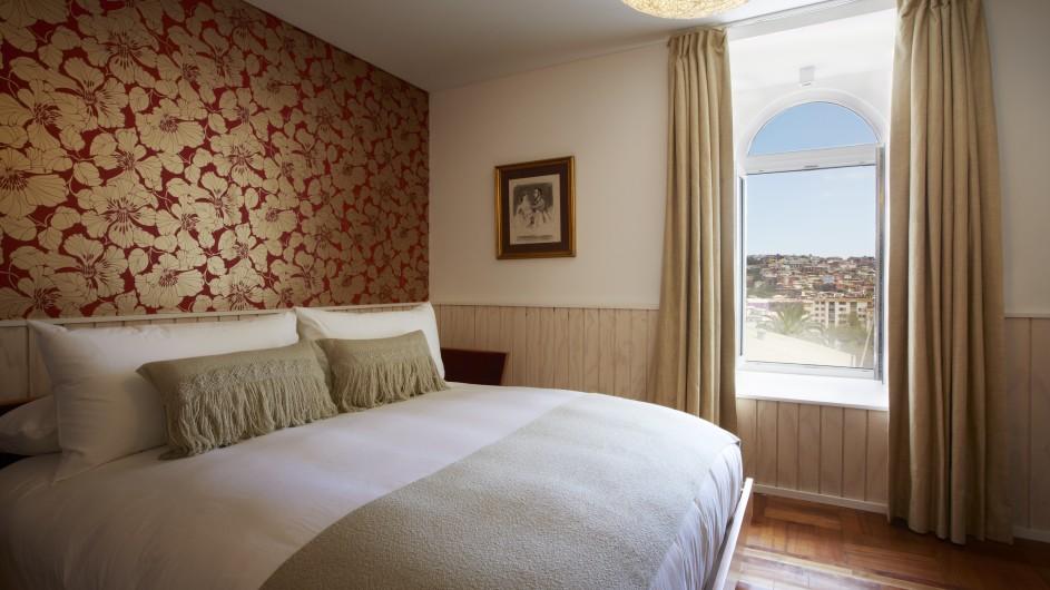Chile - Valparaiso - Hotel Palacio Astoreca - Premium Zimmer