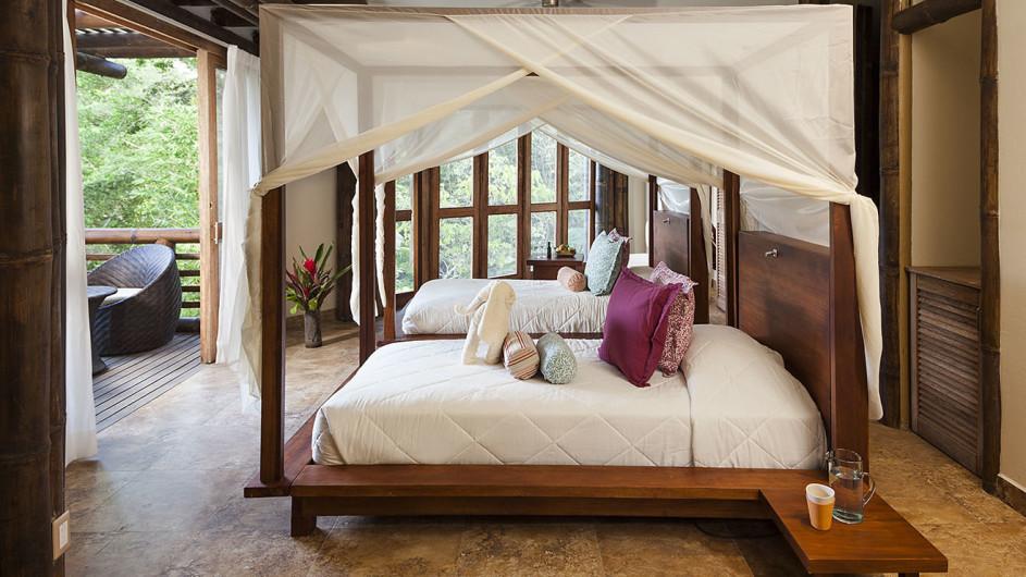 Ecuador - La Selva Ecolodge - Zimmer