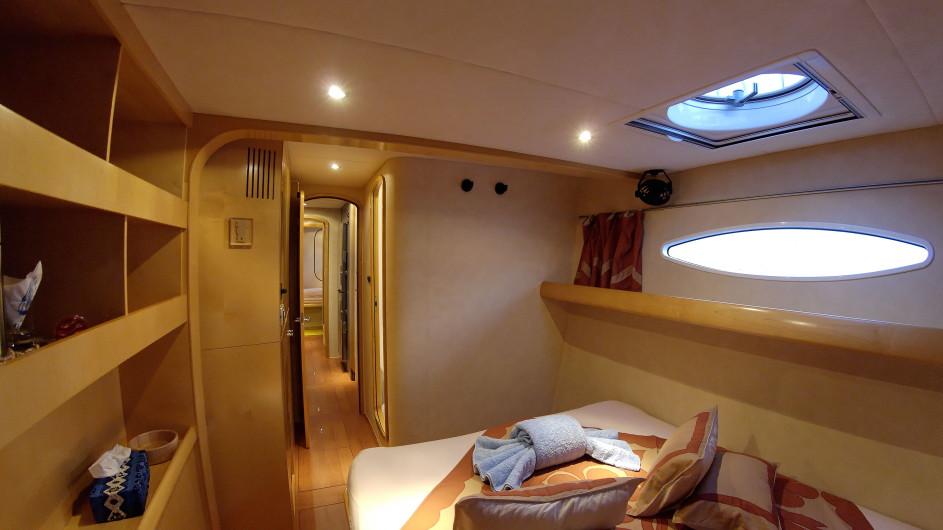 Französisch Polynesien - Archipels Cruises - Eleuthera 60 - Kabine