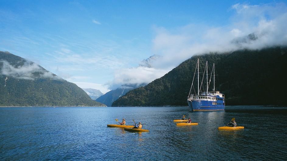Neuseeland - Milford Sound Overnight Cruise