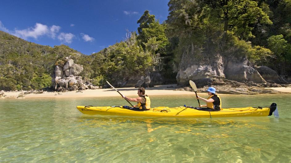 Neuseeland Abel Tasman Natinalpark Kayaktour