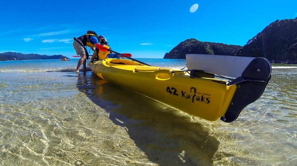 Neuseeland - Abel Tasman Nationalpark Kayaktour