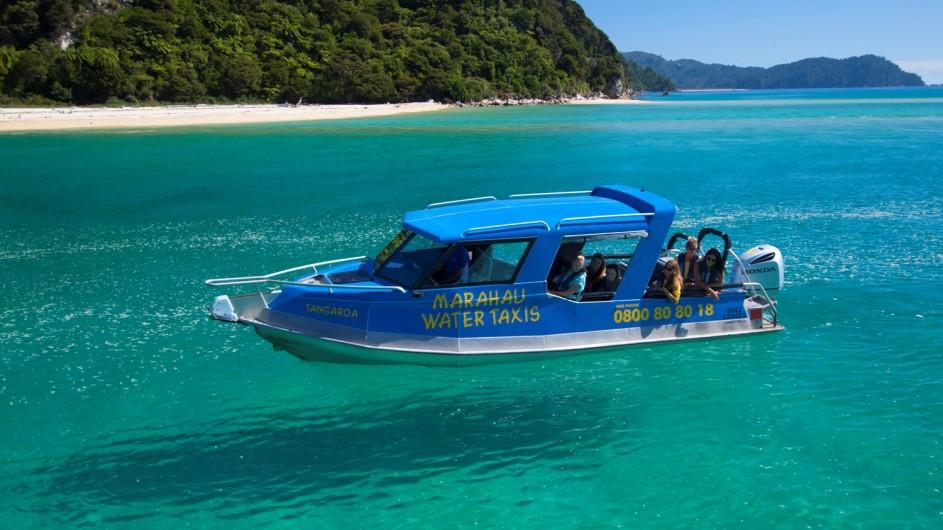 Neuseeland - Abel Tasman Nationalpark Wassertaxi