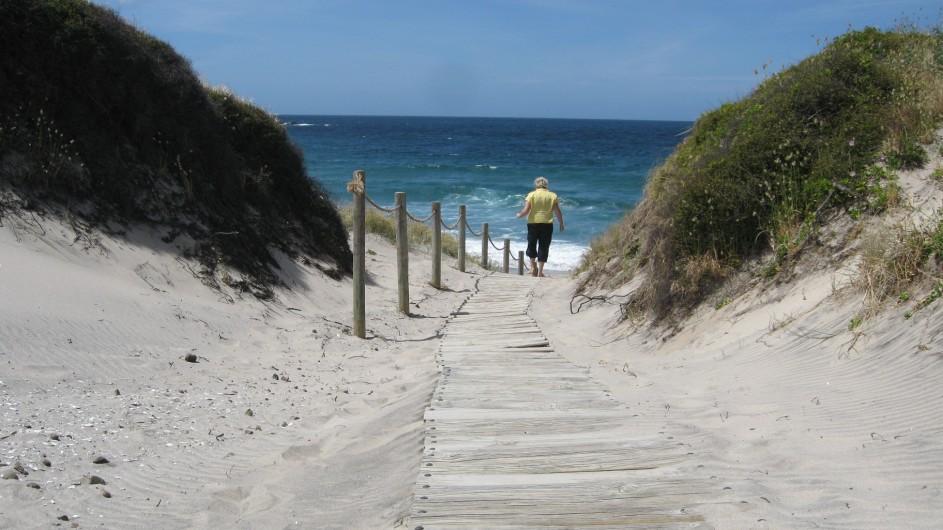 Neuseeland Beach Walk