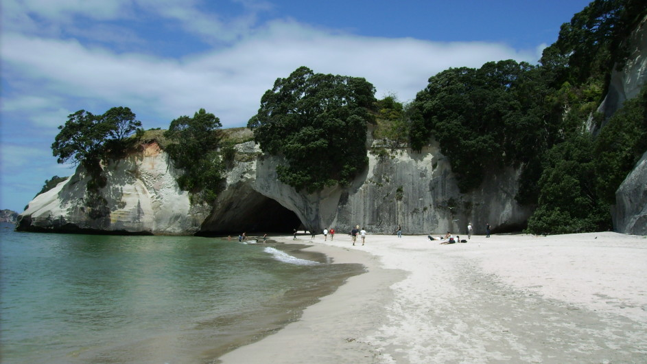 Neuseeland Cathedral Cove