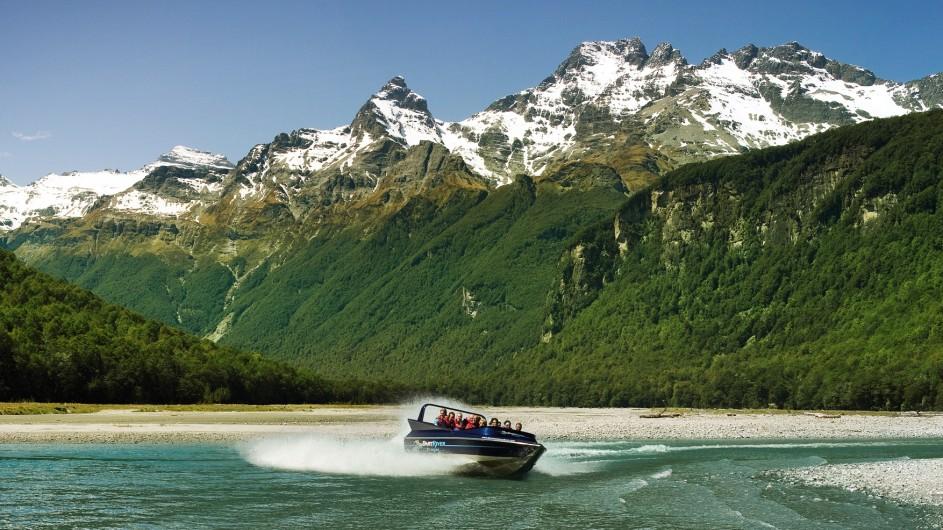 Neuseeland Dart River Jetboot