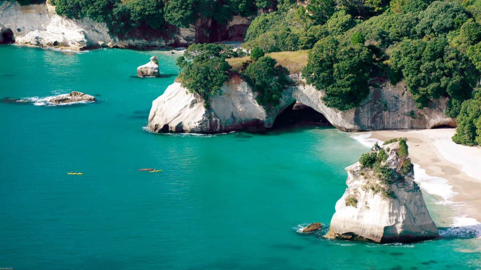 Neuseeland - Cathedral Cove