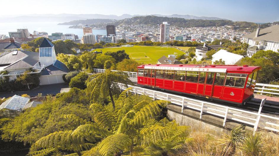 Neuseeland - Wellington - Seilbahn
