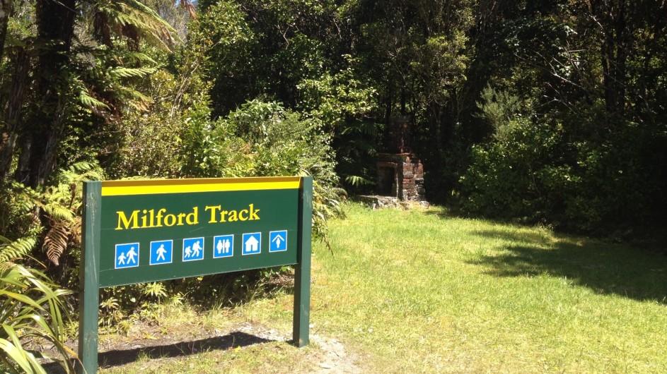 Neuseeland Milford Track Start