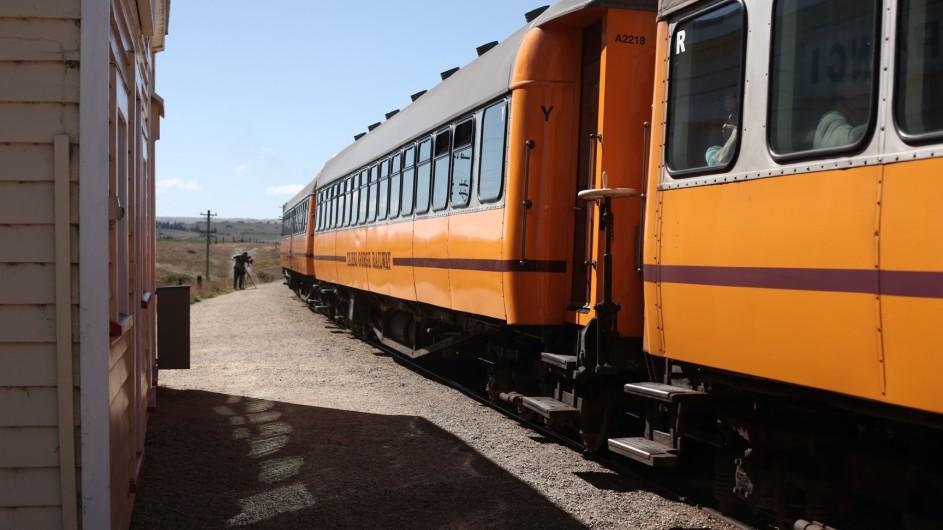 Neuseeland Otago Rail Trail Taieri Express