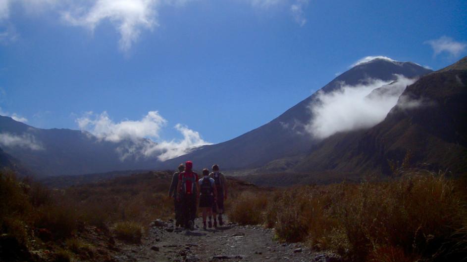 Neuseeland Wanderung Tongariro Crossing