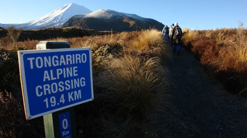 Neuseeland Tongariro Crossing Start