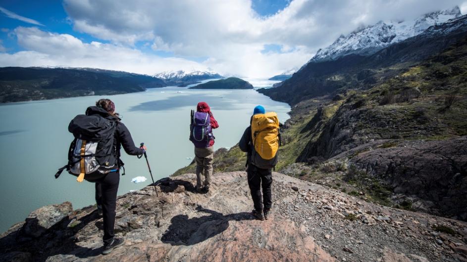 Chile - Wanderung zum Grey Gletscher