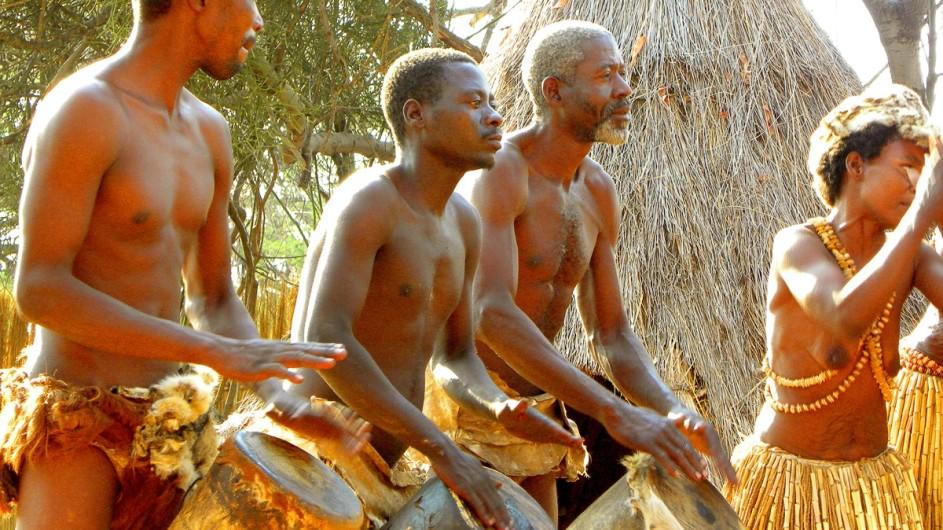 Botswana Mafwe Gesang