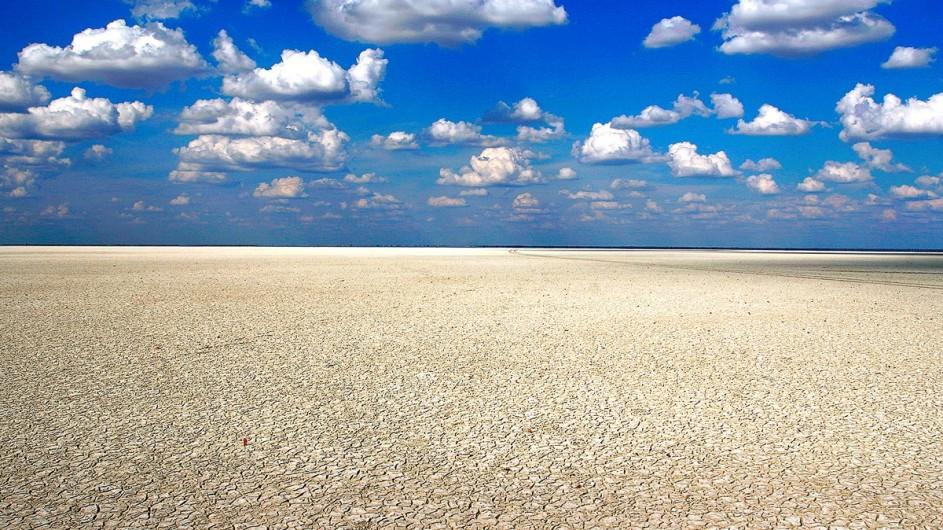 Botswana Makgadikgadi Salzpfanne