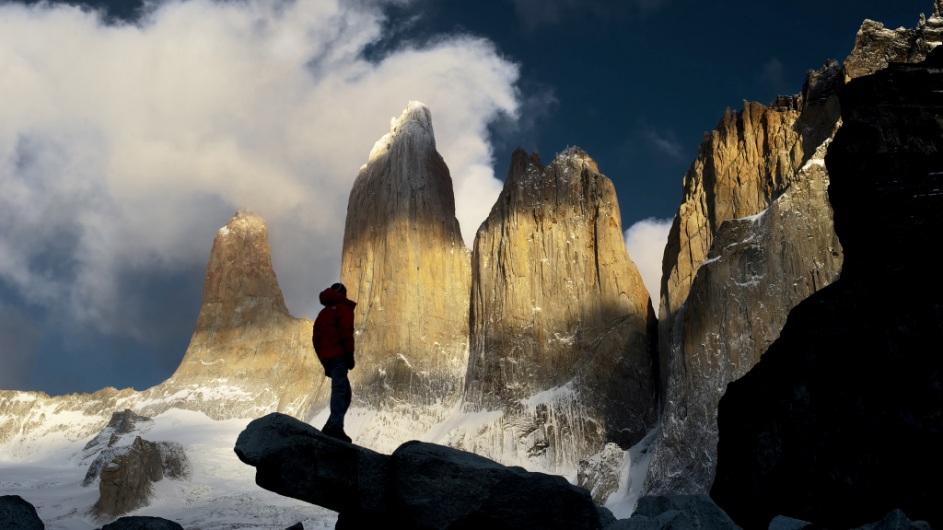 Chile - Base Torres - Cascada