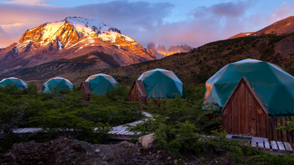 Chile - EcoCamp - Cascada