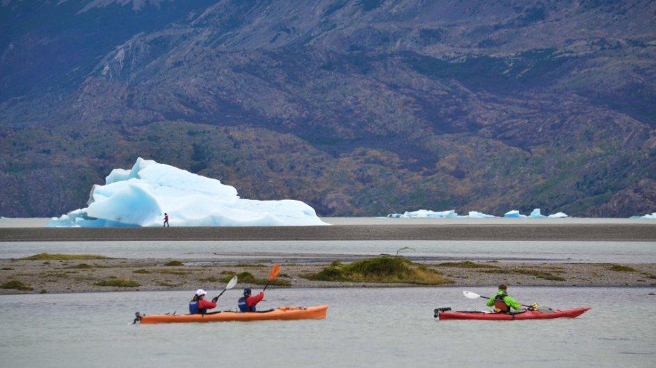 Chile - EcoCamp Kayak - Cascada