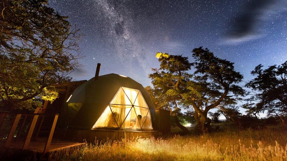 Chile - EcoCamp Suite Dome Loft - Cascada