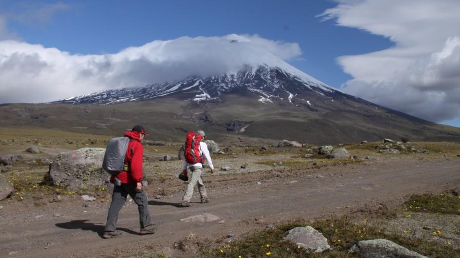 Ecuadort Cotopaxi Wandern in den Anden