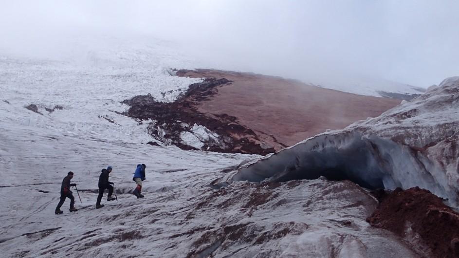 Ecuador Wandern in den Anden Schneegrenze