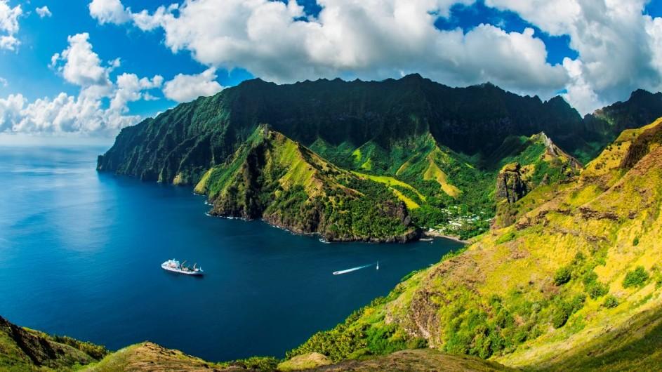 Französisch Polynesien Aranui