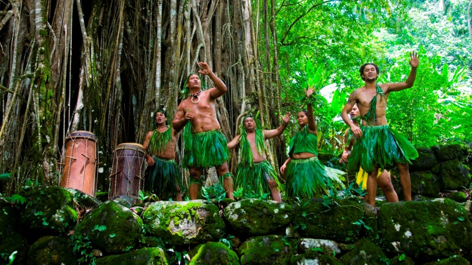 Französisch Polynesien Aranui Marquesas Tänzer